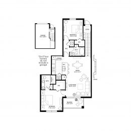 Bell Pembroke Pines B2A Floor Plan