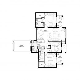 Bell Pembroke Pines C2B Floorplan